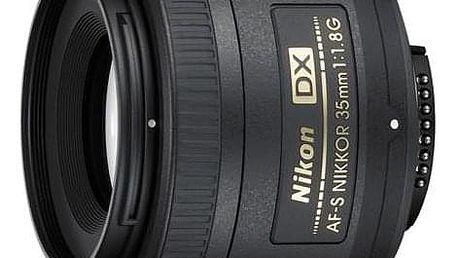 Nikon NIKKOR 35 mm f/1.8G AF-S DX černý