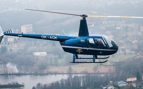 Let vrtulníkem nad Ostravou pro 3 osoby