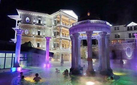 Rajecké Teplice, hotel Aphrodite Palace**** s antickými termálními lázněmi, Rajecké Teplice, Slovensko