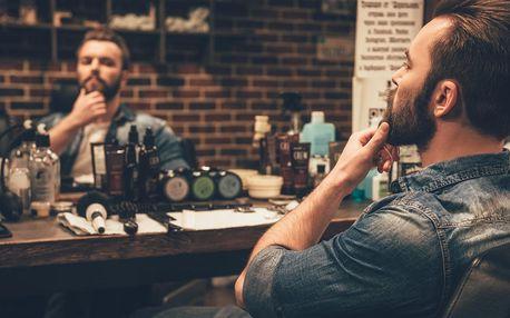 Střih strojkem, klasický střih i úprava vousů