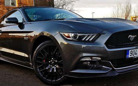 Řízení, spolujízda i půjčení Fordu Mustang GT 5.0