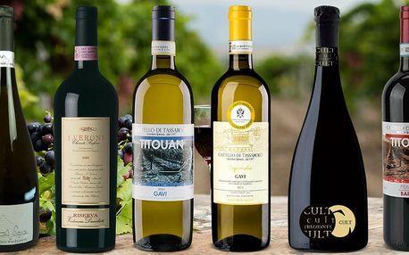Připijte si po italsku: bílé i červené