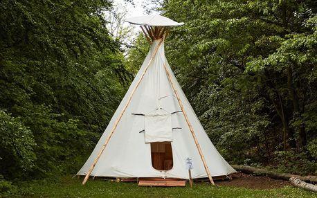 Pobyt v indiánském teepee v Beskydech i se snídaní