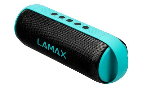 LAMAX MusiCan1 černý/tyrkysový