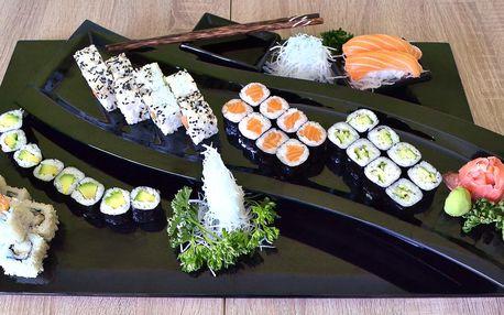 Sushi v bistru Vivi: vegetariánské i s rybami