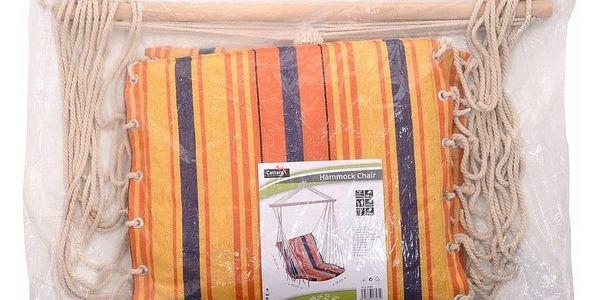 Závěsné křeslo oranžová, Cattara 135612