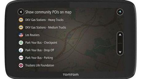 Tomtom GO Professional 6250 EU, Lifetime černá (1PL6.002.12)