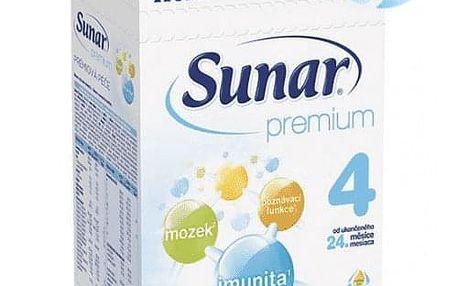 3x SUNAR Premium 4 (600 g) – kojenecké mléko