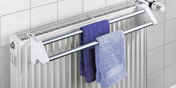 Sušák na prádloTWIN, závěsný na radiátor, WENKO2