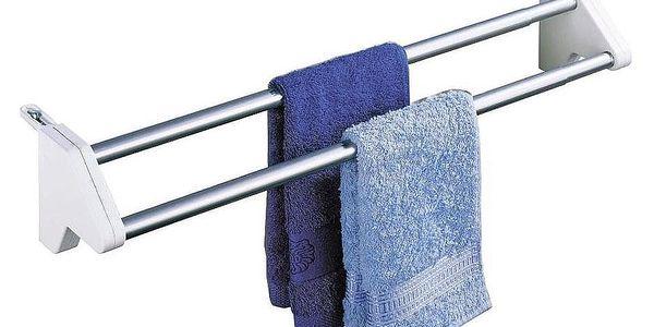 Sušák na prádloTWIN, závěsný na radiátor, WENKO