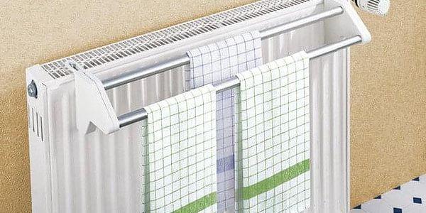 Sušák na prádloTWIN, závěsný na radiátor, WENKO4