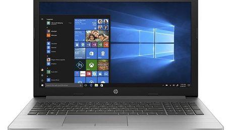 Notebook HP 250 G7 stříbrný (6BP39EA#BCM)