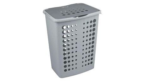 CURVER VICTORIA 30468 Koš na prádlo 60 l stříbrná