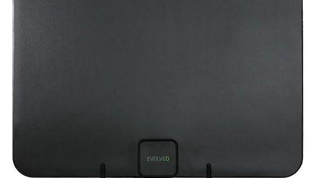 Evolveo Xany 2A LTE 230/5V, 45dBi aktivní pokojová anténa DVB-T/T2, LTE filtr (tdexany2a)