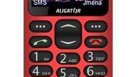 Aligator A880 GPS Senior červený (A880RD)