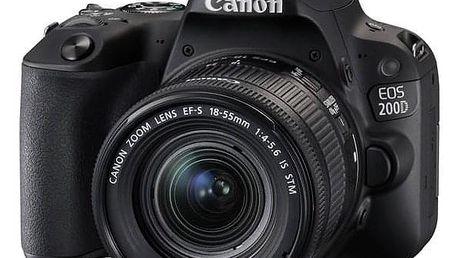 Canon EOS 200D + 18-55 IS STM černý (2250C002)
