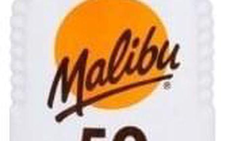 Malibu Lotion Spray SPF50 200 ml voděodolný sprej na opalování unisex