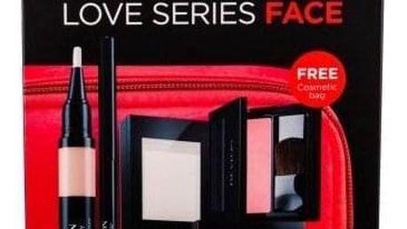 Revlon Photoready Prime + Anti Shine dárková kazeta pro ženy podkladová báze 14,2 g + rozjasňovač 7,5 g 020 Rose Glow + rozjasňující korektor 2,4 ml + tvářenka 5 g 008 Racy Rose + oční tužka 0,28 g Black + taška
