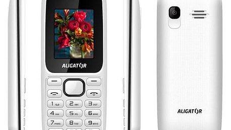 Aligator D200 Dual Sim černý/bílý (AD200WB)