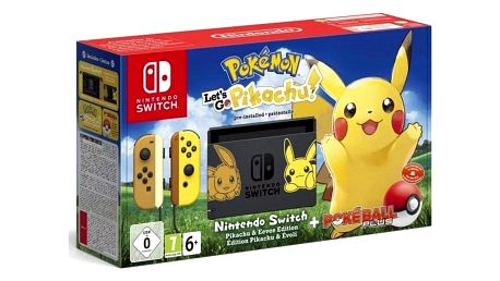 Nintendo SWITCH Pokémon: Let's Go Pikachu + Pokéball (NSH045)