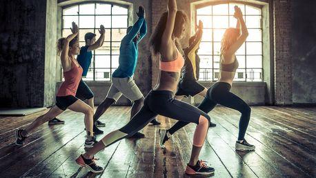 5× lekce dle výběru: jóga, TRX, bodystyling ad.