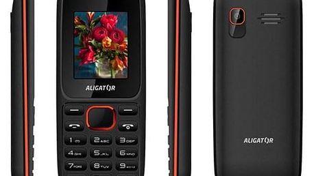 Aligator D200 Dual Sim černý/červený (AD200BR)