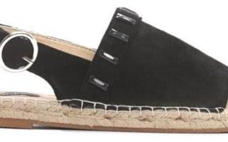 Dámské černé sandály Maitra 8462