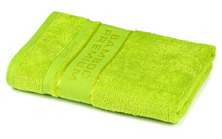 4Home Osuška Bamboo Premium zelená, 70 x 140 cm