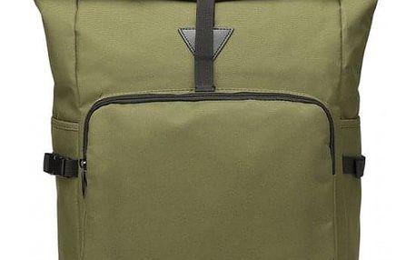 Dámský zelený batoh Willa 6839