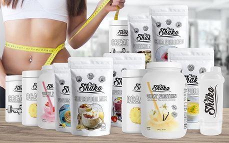Proteiny, kreatin, chia a další fitness produkty