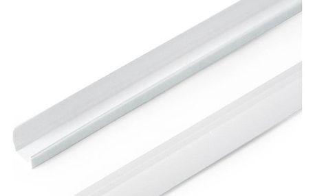 Gardinia Boční vodicí lišta pro Mini rolety bílá, 150 cm, sada 2 ks