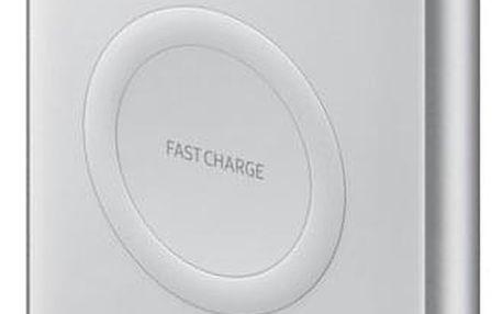 Powerbank Samsung 10000 mAh, USB-C, Qi stříbrná (EB-U1200CSEGWW )