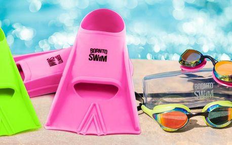 Plavecké brýle, ploutve a šnorchly pro celou rodinu
