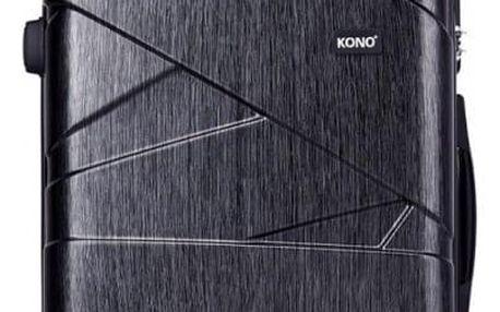 Dámský střední šedý kufr Rotta 1772L