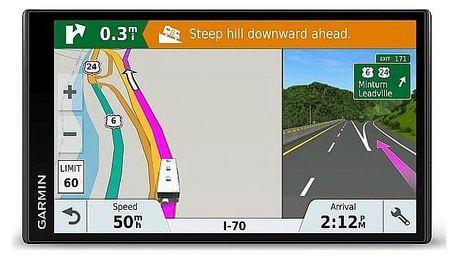 Navigační systém GPS Garmin CAMPER 770T-D černá/šedá (010-01768-01)