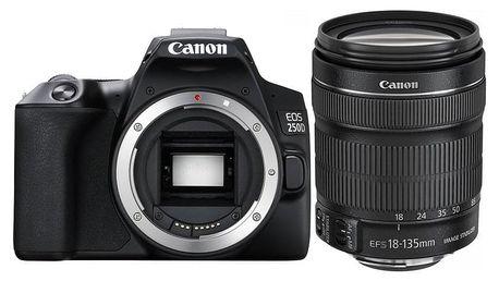 Digitální fotoaparát Canon EOS 250D + 18-135 IS STM černý (3454C019)