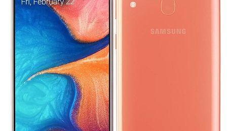 Samsung A20e Dual SIM oranžový (SM-A202FZODXEZ)