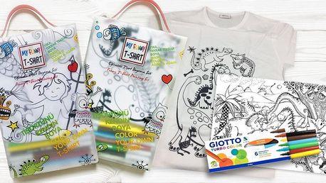 Vodní malování: fixy, kreslicí podložky i trička