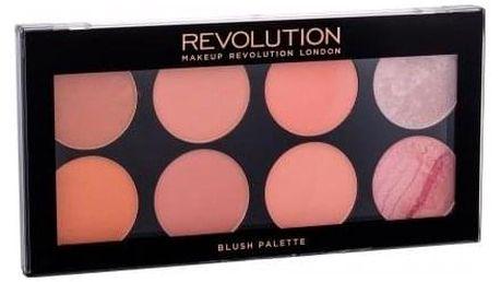 Makeup Revolution London Blush Palette 13 g paletka 8 tvářenek pro ženy Hot Spice