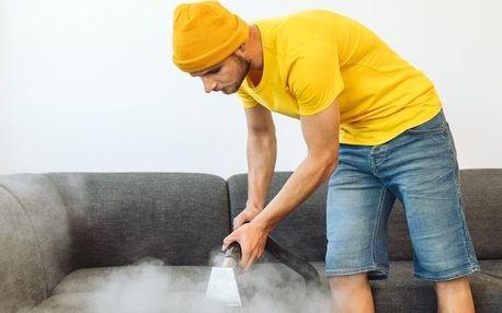 Sedačky jako nové: čištění za pomocí tepovače