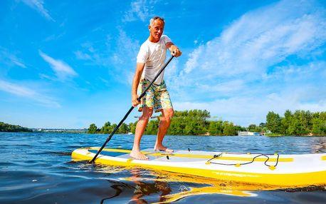 Na vodu: hodina či dvě na kánoi nebo paddleboardu