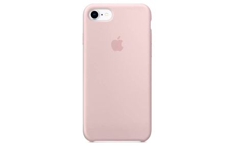 Apple Silicone Case pro iPhone 8/7 - pískově růžový (MQGQ2ZM/A)