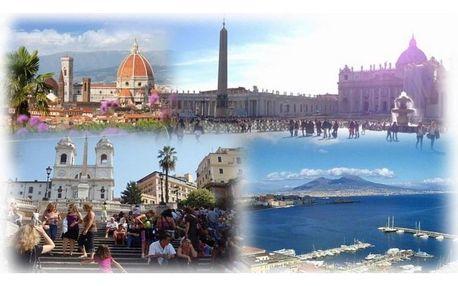 Itálie, autobusem na 6 dní