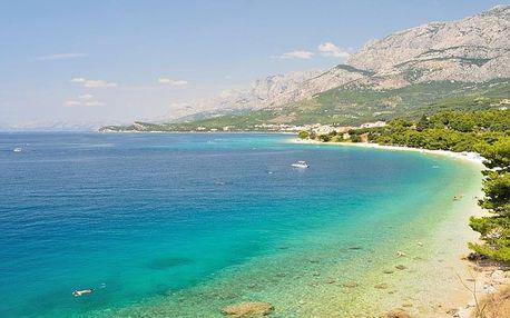 Chorvatsko - Tučepi autobusem na 10 dnů, polopenze