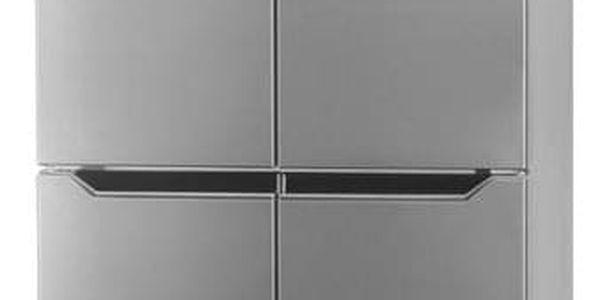 Americká lednice ETA 139090010 stříbrná2