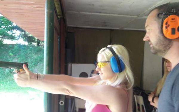 Střelba na střelnici - balíček Comfort3