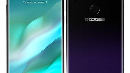 Mobilní telefon Doogee X90L (DGE000388) fialový Paměťová karta Kingston Canvas Select MicroSDHC 16GB UHS-I U1 (80R/10W) v hodnotě 620 Kč
