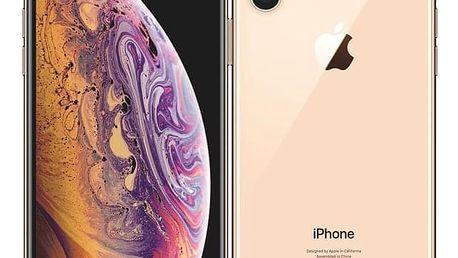 Mobilní telefon Apple iPhone Xs 64 GB - gold (MT9G2CN/A)