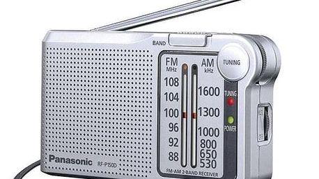 Panasonic RF-P150DEG-S stříbrný