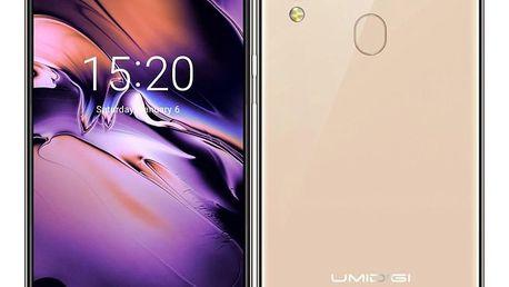 Mobilní telefon UMIDIGI A3 Dual SIM zlatý (UMIDIGIA3GD)